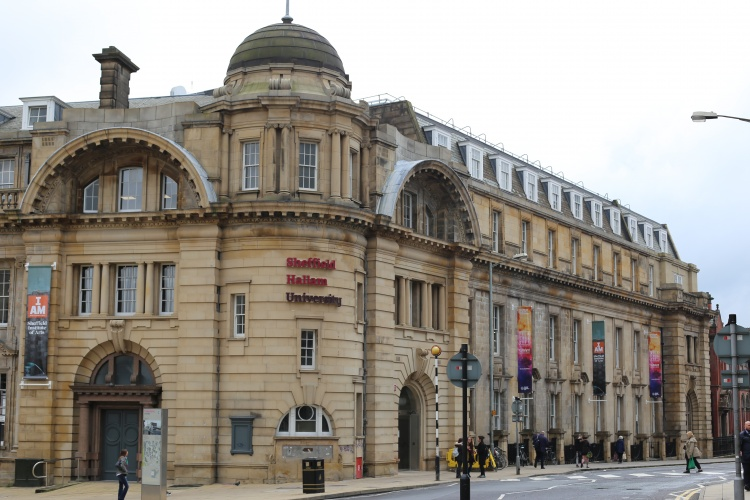 Sheffield Hallam University, home to Sheffield Institute of the Arts. Courtesy of Flickr user Clive Wren.