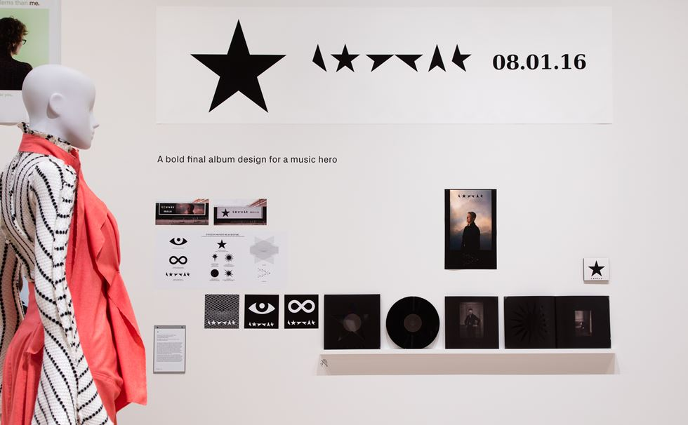 David Bowie Blackstar album artwork, by Jonathan Barnbrook © Luke Hayes