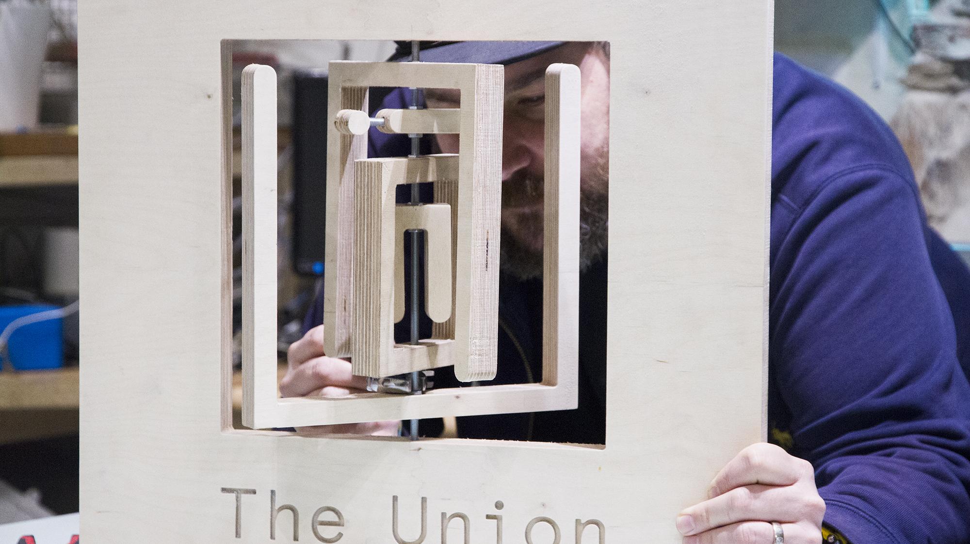 10 The Union signage