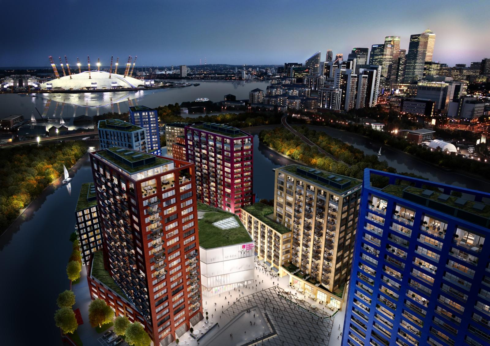 CGI of London City Island (3)