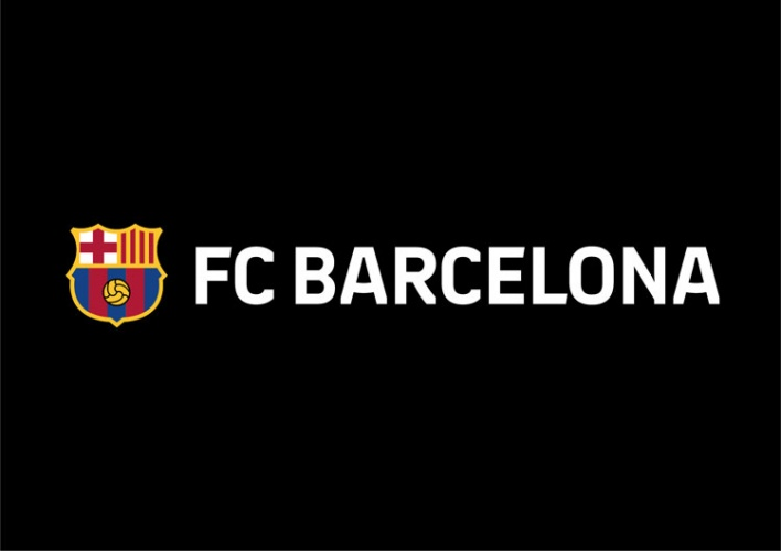 barcelona fc unveils new crest as it drops letters fcb barcelona fc unveils new crest as it