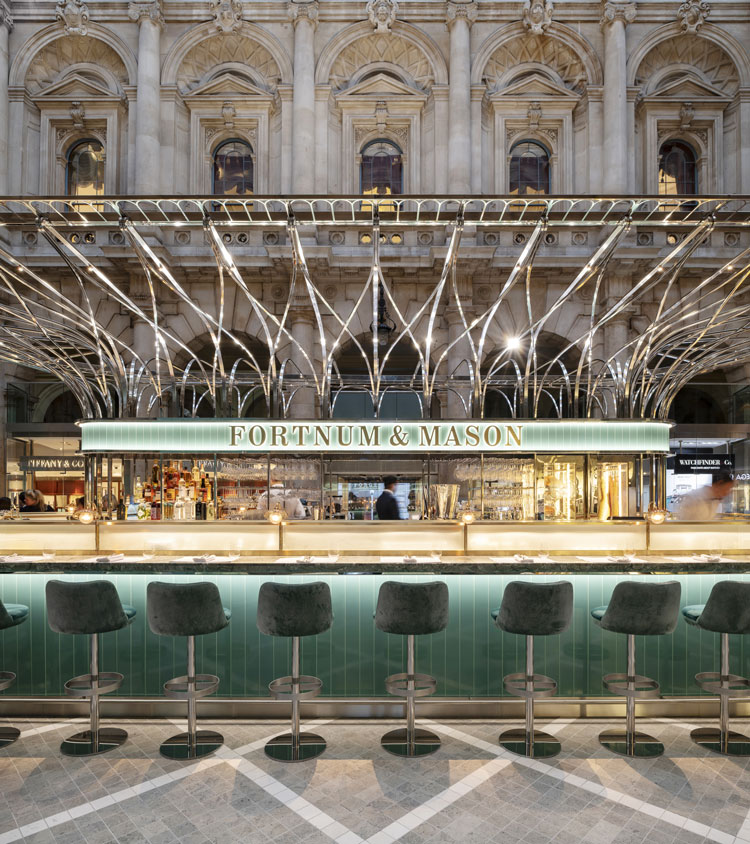 How Fortnum Mason S New Space In The City Of London Was Designed