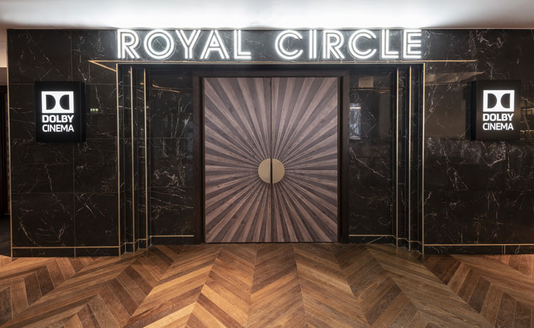 Royal Circle at Odeon Leicester Square, courtesy of 20.20