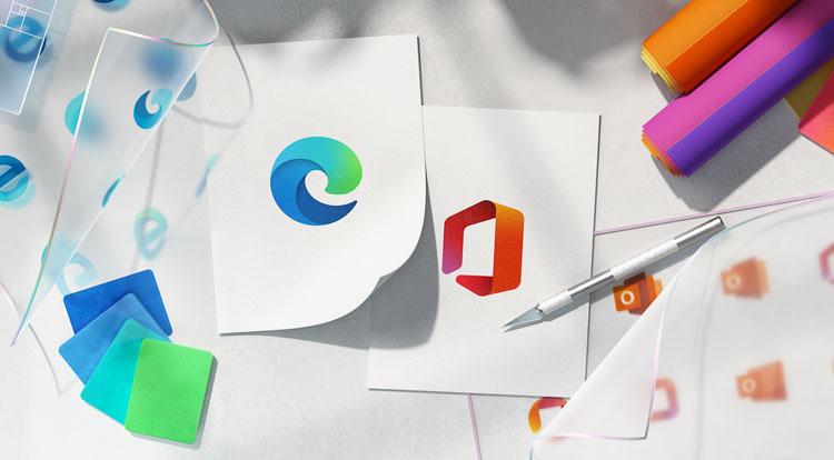 Microsoft icon redesign
