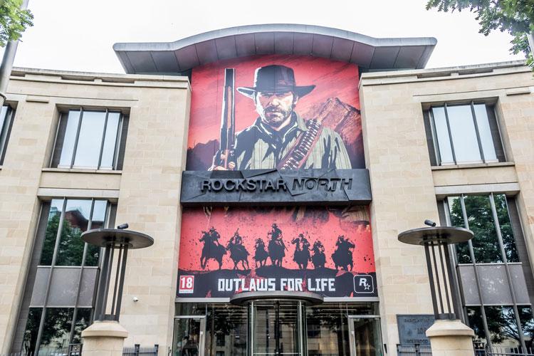 Premises for Rockstar North in Edinburgh