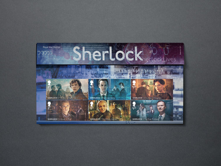 sherlock stamps royal mail