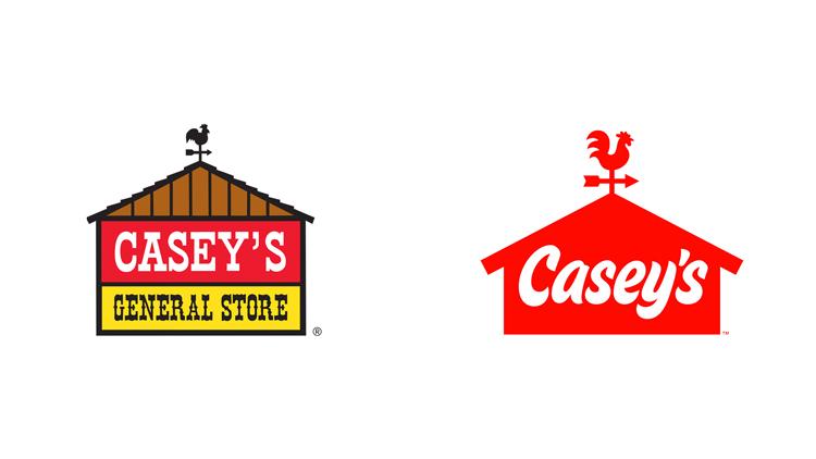 Casey's new logo