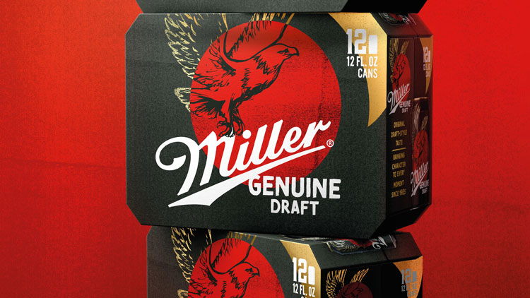 miller genuine draft rebrand