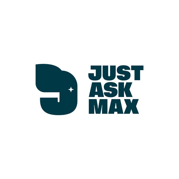 just ask max rebrand