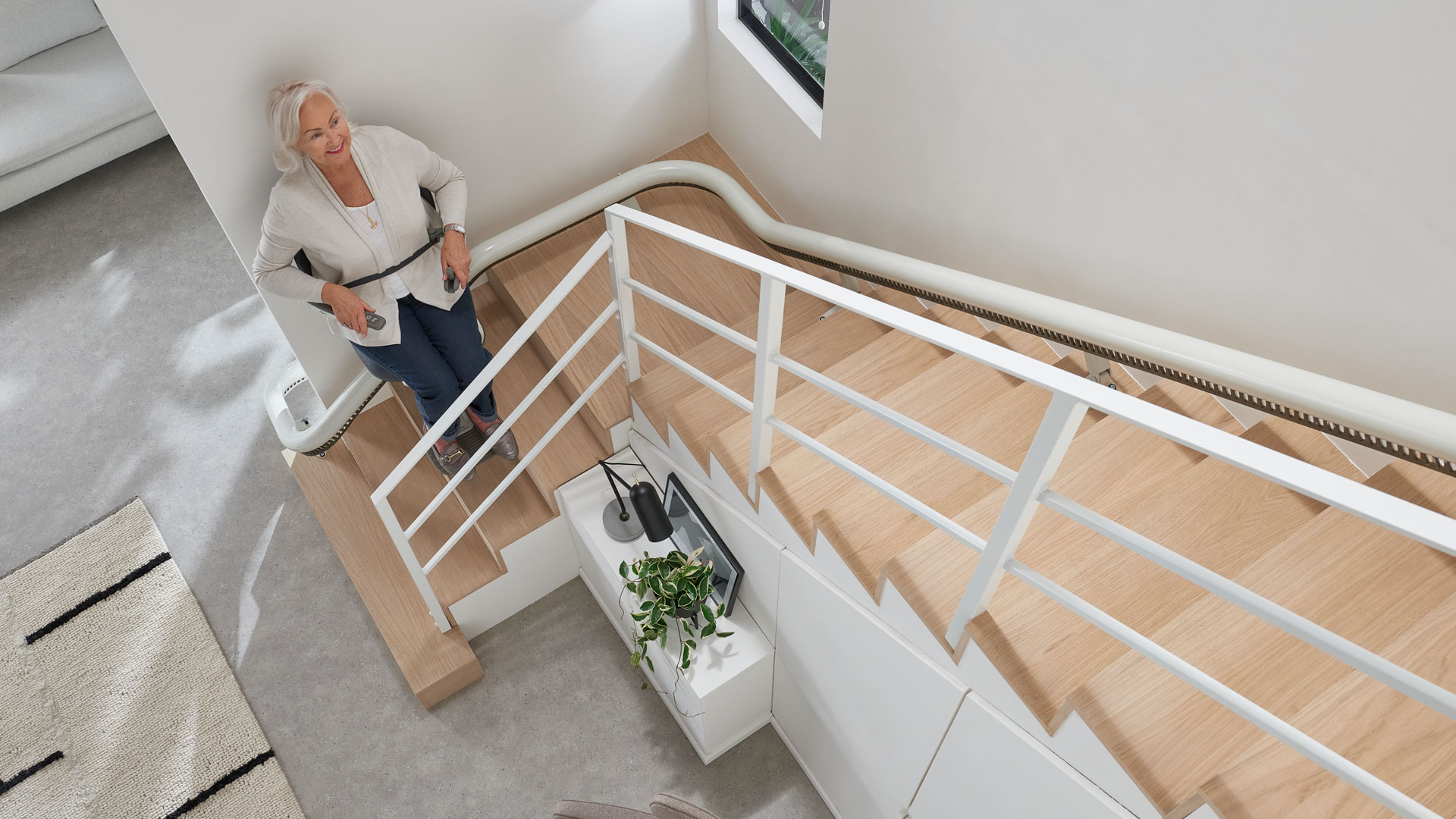 """Pearson Lloyd designs stairlift fit """"for the 21st century"""""""