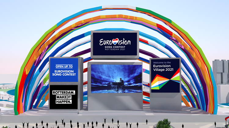 Eurovision reveals first ever online village for 2021 comeback