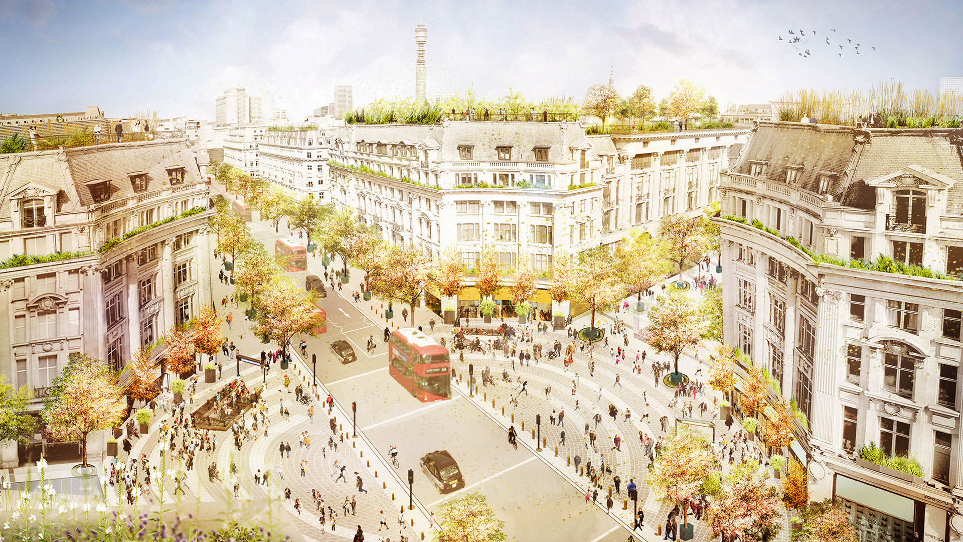 """£150m project to pedestrianise Oxford Circus seeks """"world-class"""" designers   Design Week"""