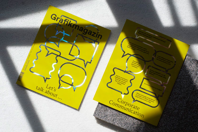 """Grafikmagazin designed to """"surprise readers with something new"""" every issue 