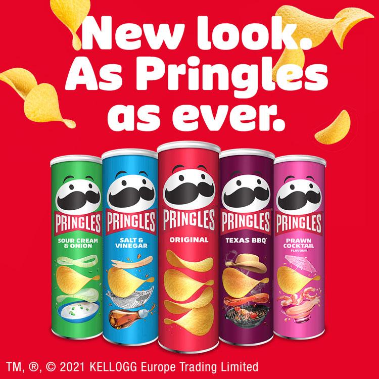 Pringles rebrand