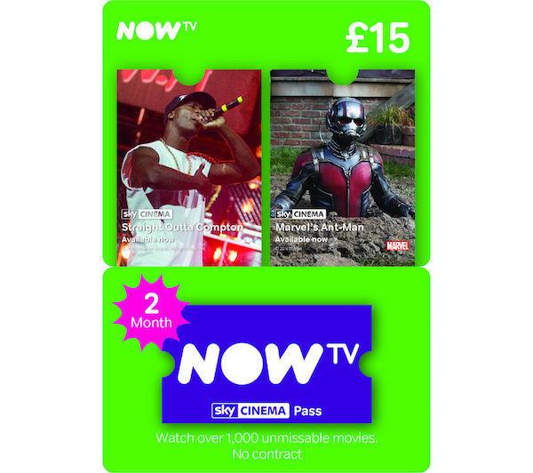now tv voucher