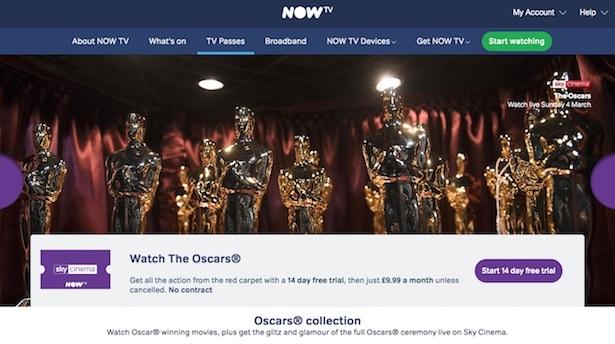 oscars now tv