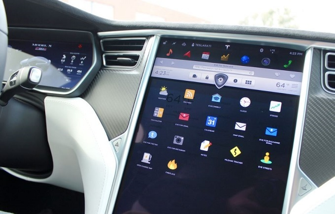 Tesla connected cars