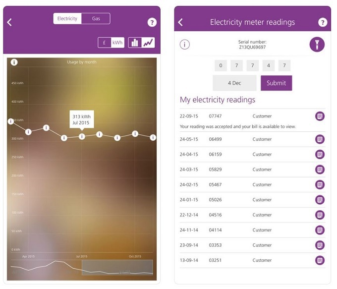 first utility mobile app