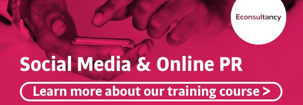 social media and online pr training