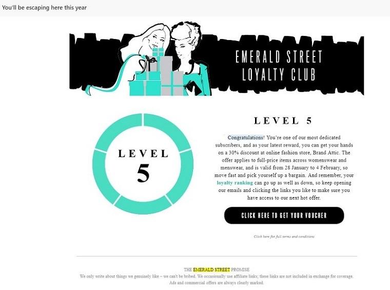 emerald street loyalty club