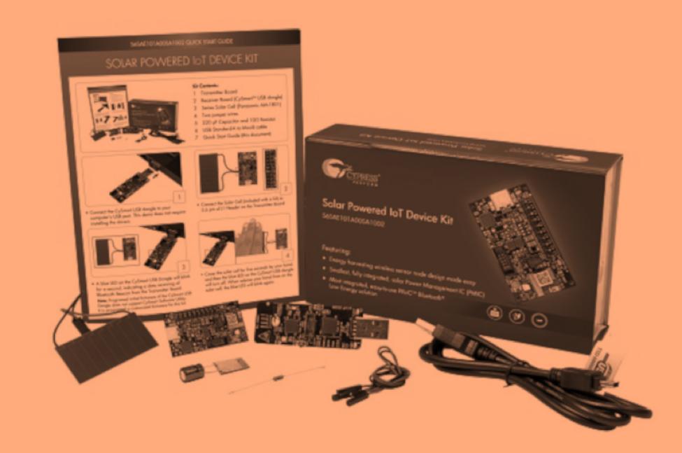 solar powered iot sensor