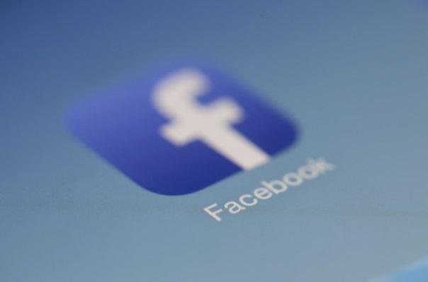 Fading Facebook app icon