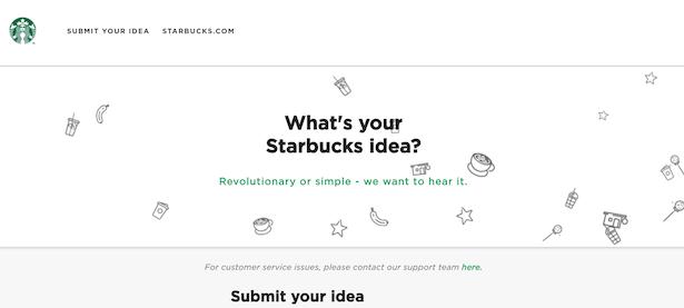 mystarbucksidea.com screenshot