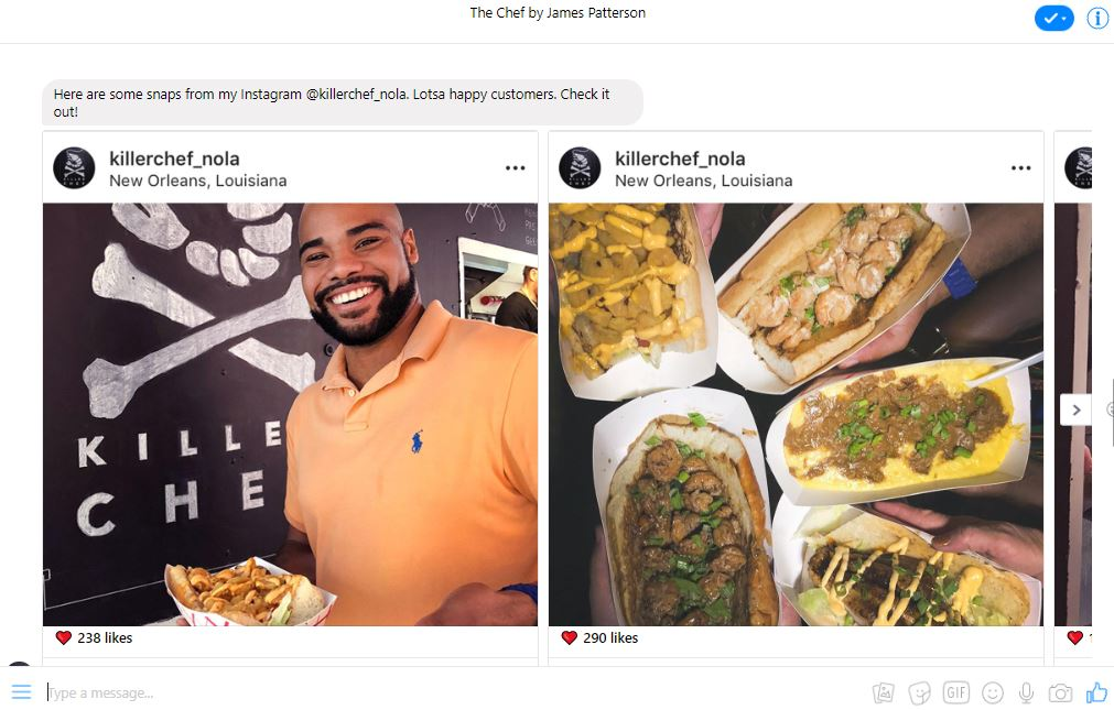 The Chef Instagram