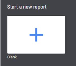start new report