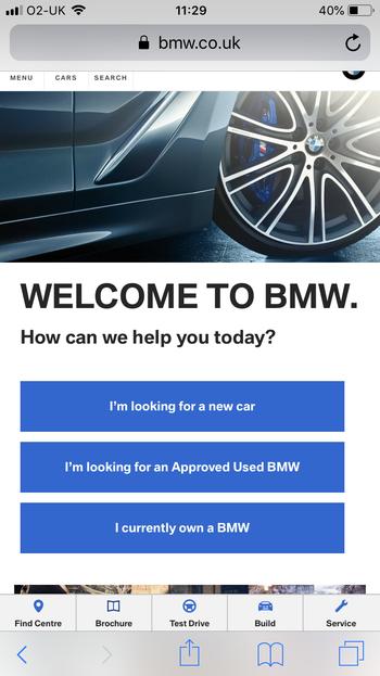 BMW PWA