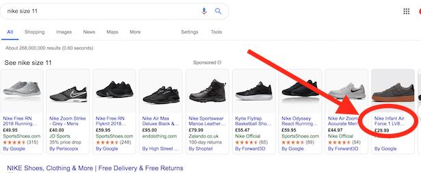 google-shopping-nike-infant
