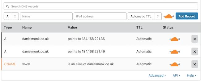 cloudflare-domain-setup