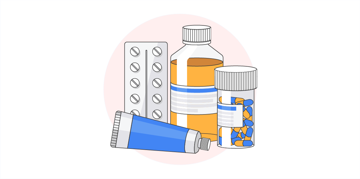 pharma pill bottles
