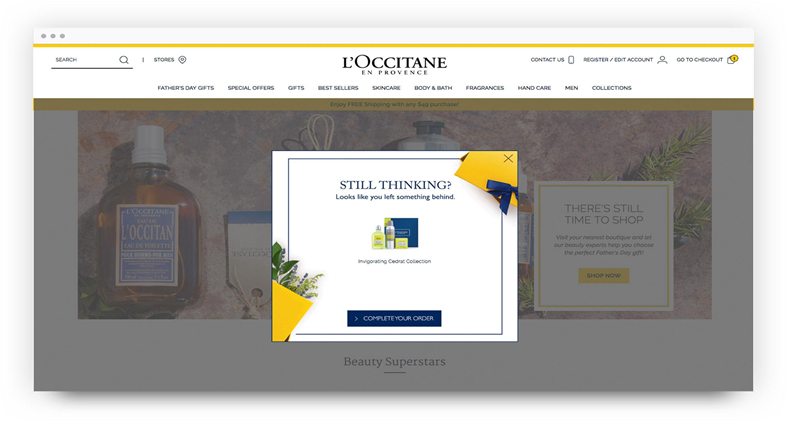 still thinking l'occitane