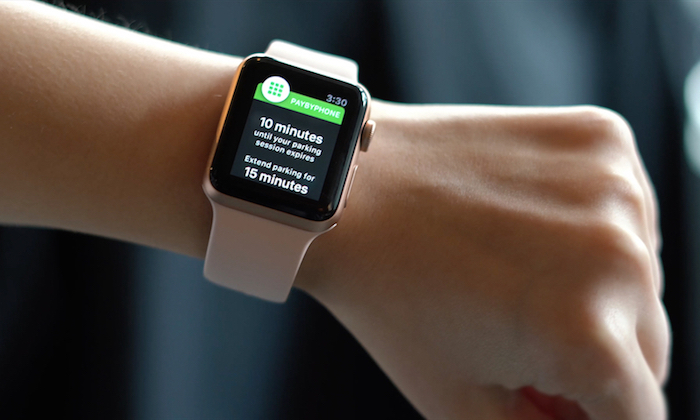 paybyphone apple watch