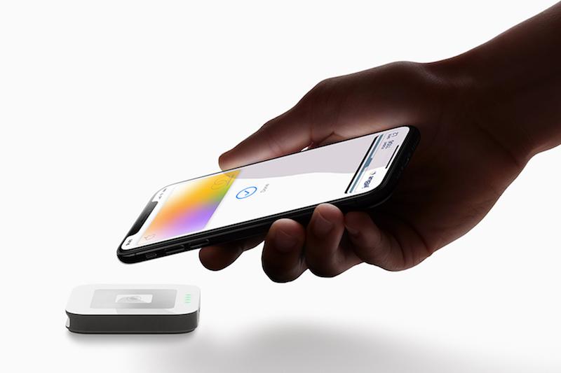 apple card iphonex payment