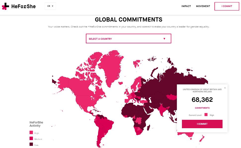 3 HeForShe Global Commitments