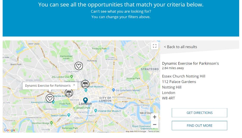 23 Parkinsons UK map