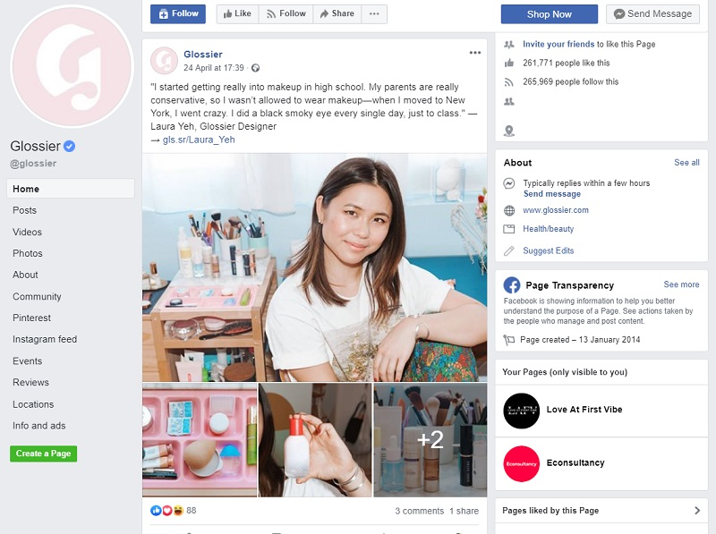 25 Brilliant Examples Of Facebook Brand Pages Econsultancy