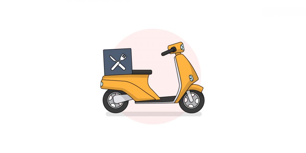 食物和摩托车