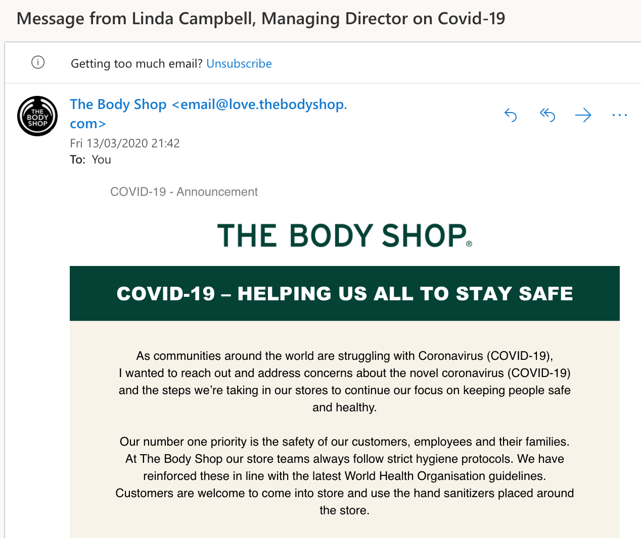 body shop email