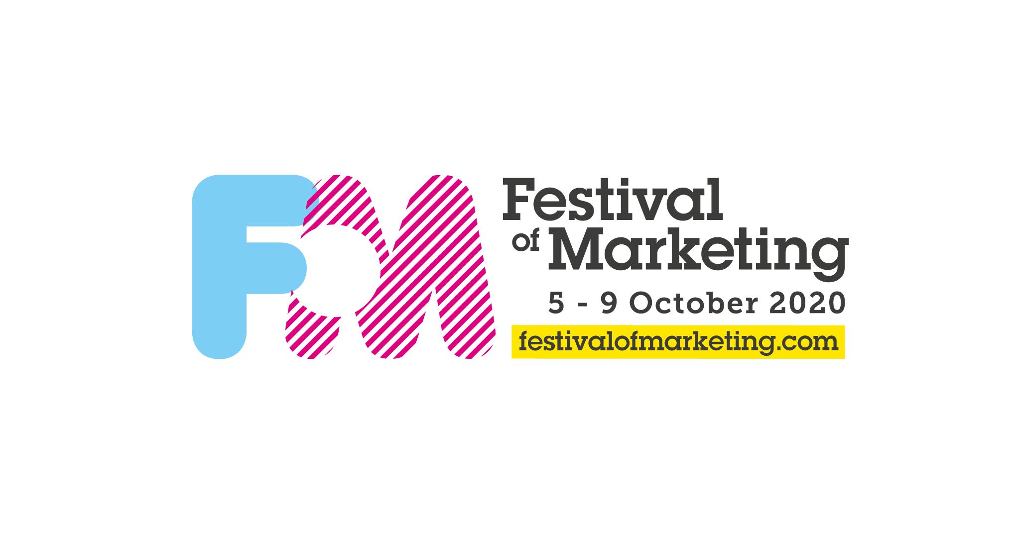 festival of marketing logo