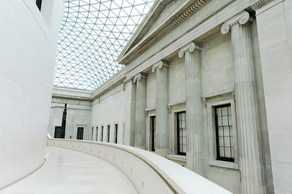 Great Court of the British Museum. Editorial credit: KPG_Payless / Shutterstock.com
