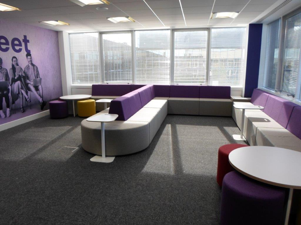 RS Components Corby offices breakout space
