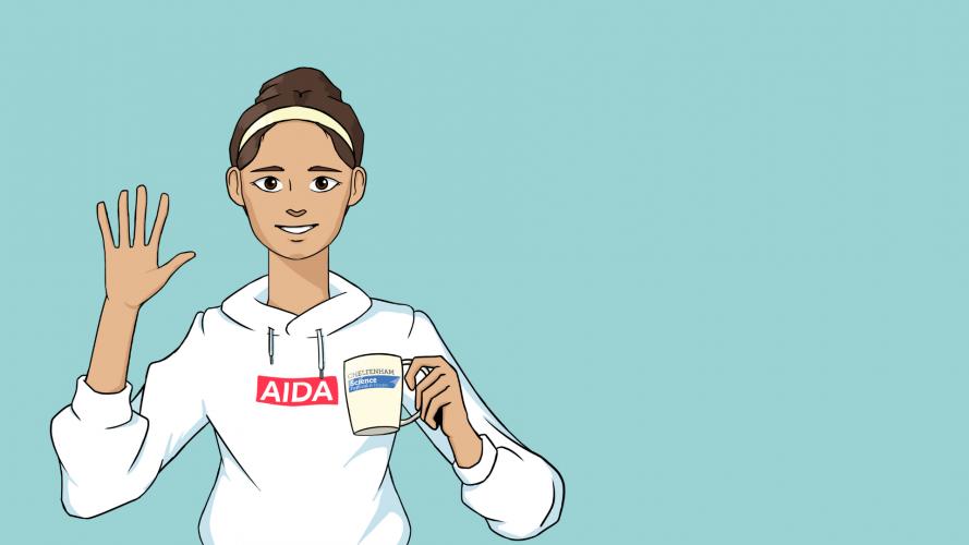 AIDA ai-powered curator pic