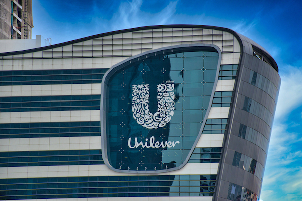 Unilever offices. Editorial credit: BalazsSebok / Shutterstock.com