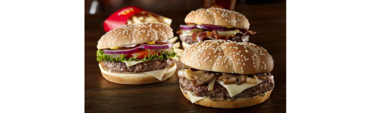 The 'Third Pounder' burgers will be bigger than McDonald's iconic Quarter Pounder with Cheese