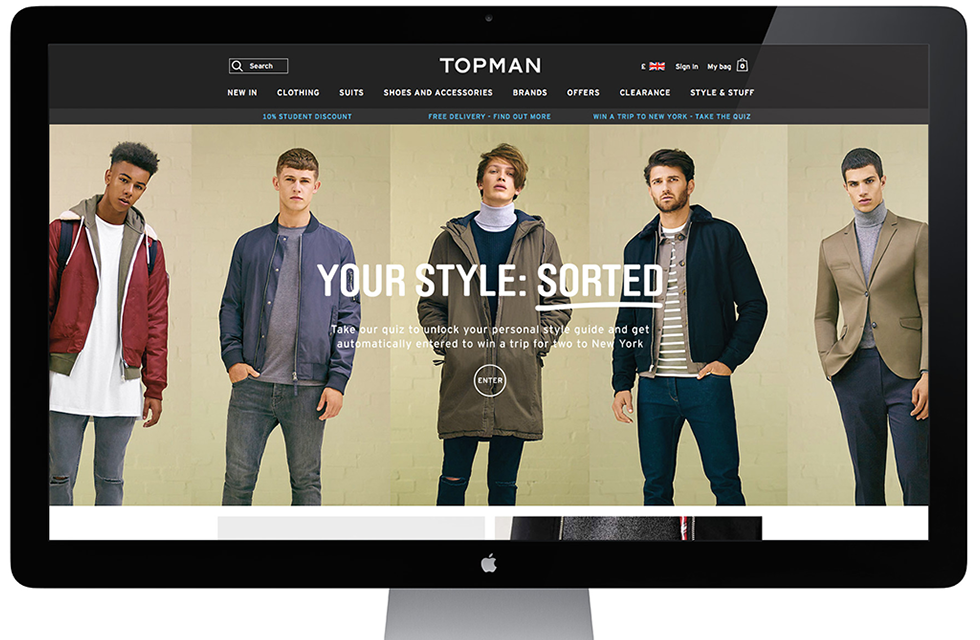 Topman programmatic advertising