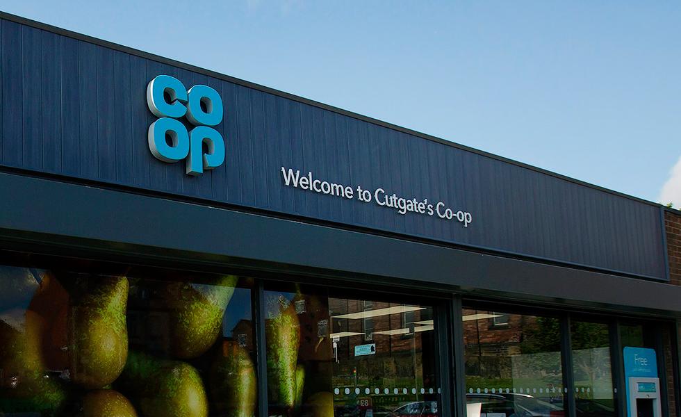Co-op supermarket