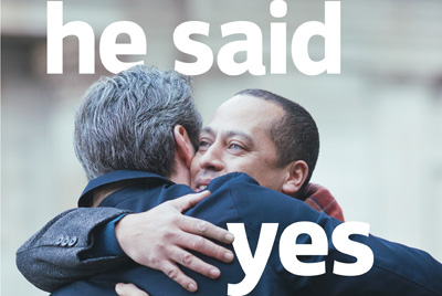 Lloyds same sex couple proposal